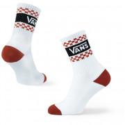 Жіночі шкарпетки Vans Wm Girl Gang Crew 6.5-10 1Pk білий/червоний