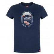 Дитяча футболка Loap Bamsy синій