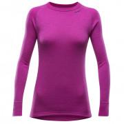 Dámské triko Devold Expedition Shirt W růžová Fuchsia