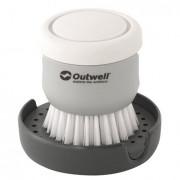 Kartáč Outwell Kitson Brush with Soap Dispenser šedá