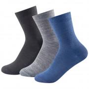 Dětské ponožky Devold Daily Light Kid Sock 3pk modrá Kid mix