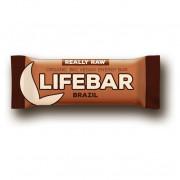 Tyčinka Lifebar Brazilská RAW BIO 47 g