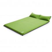 Самонадувний килимок Zulu Dreamtime 7,5 Double Pillow зелений