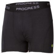 Pánské funkční boxerky Progress E SKN 28HA černá černá