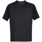 Pánské triko Under Armour Tech SS Tee 2.0 černá Black