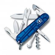 Nůž Victorinox Climber modrá transparentní trans blue