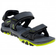 Pánské sandály Elbrus Lidden černá Black/Dark Grey/Lime