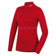 Dámské funkční triko Husky Merino zip červená