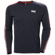 Чоловіча функціональна футболка Helly Hansen Lifa Active Stripe Crew темно-синій