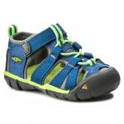 Dětské sandály Keen Seacamp II CNX INF modrá true blue/jasmine green
