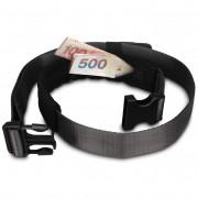 Bezpečnostní pásek Pacsafe Cashsafe 25 Belt černá black