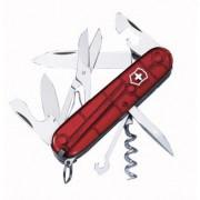 Nůž Victorinox Climber červená transparentní trans red