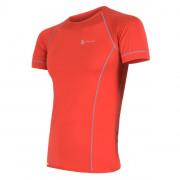 Pánské funkční triko Sensor Coolmax fresh červená červená