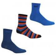 Дитячі шкарпетки Regatta Kids3PkOutdoorSck синій