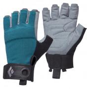 Dámské rukavice Black Diamond W'S Crag Half-Finger Gloves modrá Raging Sea