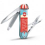 Kapesní nůž Victorinox Classic LE Let It Pop modrá/červená