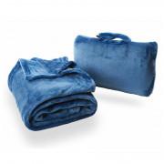 Cestovní deka Cabeau Fold 'n Go Blanket modrá Cabeau Blue