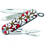 Nůž Victorinox Classic 58 mm různé barvy 0.6203 bílá/červená Classic Edelweiss