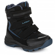Дитячі зимові черевики Loap Sneeky синій/чорний