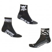Cyklistické ponožky Sensor Race Code-Pirate-Chess 3-pack