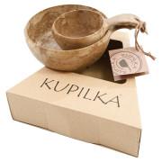 Miska a talíř Kupilka Kuksa 55 + 21 Set hnědá brown