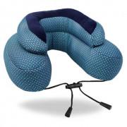 Polštářek Cabeau Evo Microbead modrá Blue Plus