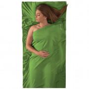 Vložka do spacáku STS Silk Liner Stretch Panel Std světle zelená green