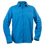 Pánská košile Warmpeace Moody modrá smoke blue