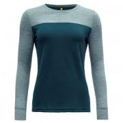 Жіноча функціональна футболка Devold Norang Woman Shirt сірий/синій