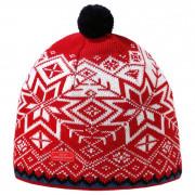 Pletená Merino čepice Kama AW41 červená red