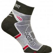 Ponožky High Point Active 2.0 Socks černá/červená Černo / červená