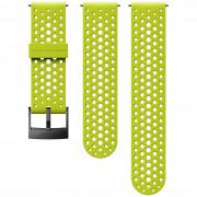 Řemínek Suunto 24mm Athletic 1 Silicone Strap světle zelená