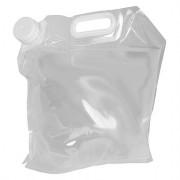 Kanystr Bo-Camp Jerrycan Water Bag 10 L průhledná Transparent