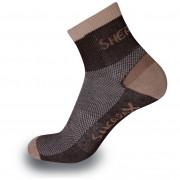 Ponožky Sherpax Olympus hnědá