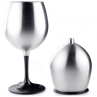 Стакан GSI Outdoors Glacier Stainless Red Wine Gla