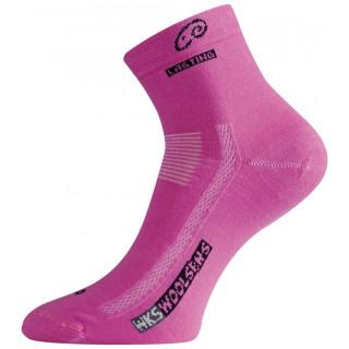 Ponožky Lasting WKS růžová růžová