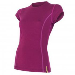 Dámské triko Sensor Merino Wool Active kr.r. fialová lila