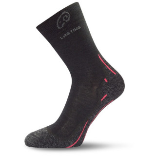 Ponožky Lasting WHI černá/růžová černá