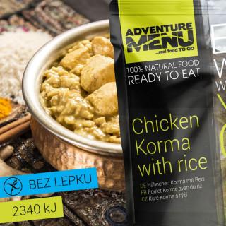 Adventure Menu Kuře Korma s rýží 400 g